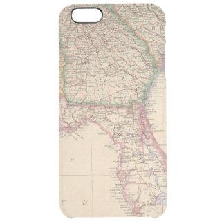 Estados de Carolina del Sur, de Georgia, y de Funda Clear Para iPhone 6 Plus