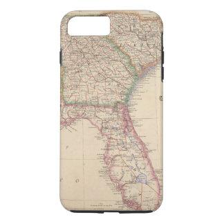 Estados de Carolina del Sur, de Georgia, y de Funda iPhone 7 Plus