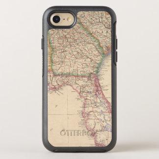 Estados de Carolina del Sur, de Georgia, y de Funda OtterBox Symmetry Para iPhone 7
