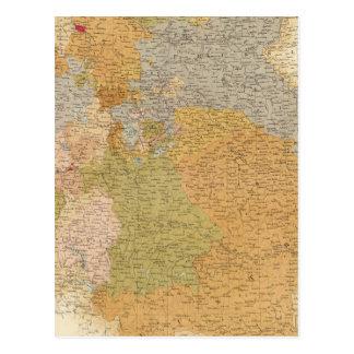 Estados de la última confederación germánica tarjetas postales
