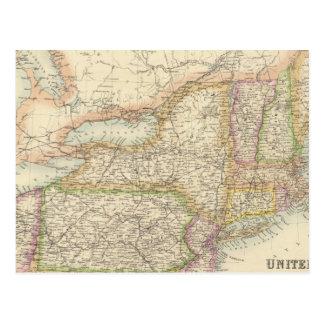 Estados del noreste de Estados Unidos Postal