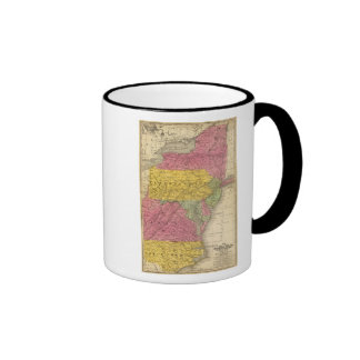 Estados medios, los E.E.U.U. Taza De Café