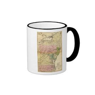 Estados medios taza de café