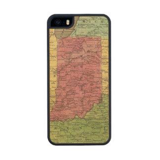 Estados Occidentales 2 Funda De Madera Para iPhone 5