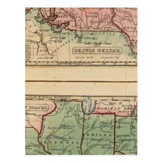 Estados Occidentales, Estados Unidos Tarjetas Postales