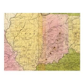 Estados Occidentales Tarjetas Postales