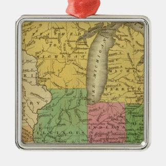 Estados Occidentales, territorios Ornamento Para Arbol De Navidad