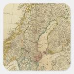 Estados septentrionales Escandinavia Colcomanias Cuadradases