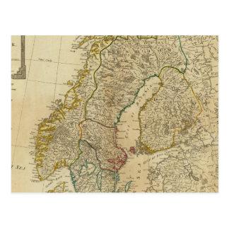 Estados septentrionales Escandinavia Postal