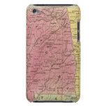 Estados sureños con la parte del sur de la Florida iPod Case-Mate Carcasas