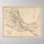 Estados sureños de México Impresiones