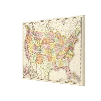 Estados Unidos 13 Lienzo Envuelto Para Galerias