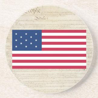 Estados Unidos 13 protagonizan la bandera Posavasos Manualidades