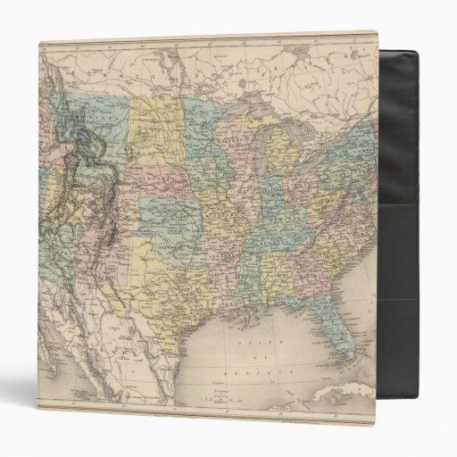 """Estados Unidos 30 Carpeta 1 1/2"""""""