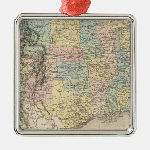 Estados Unidos 30 Ornamento Para Arbol De Navidad
