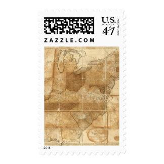 Estados Unidos 39 Sellos Postales