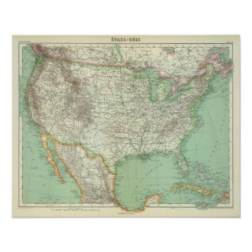 Estados Unidos 3 Posters