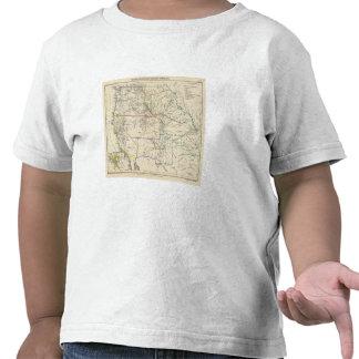 Estados Unidos al sudoeste Camiseta