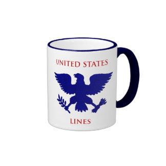 Estados Unidos alinean Taza De Café