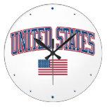 Estados Unidos + Bandera Relojes