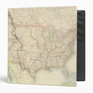 """Estados Unidos Carpeta 1 1/2"""""""