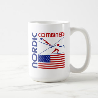 Estados Unidos combinados nórdicos Tazas De Café