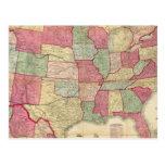 Estados Unidos continentes americanos Tarjetas Postales
