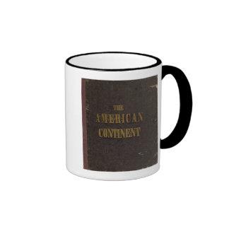 Estados Unidos continentes americanos Taza De Café
