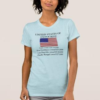Estados Unidos de la hipocresía Camiseta
