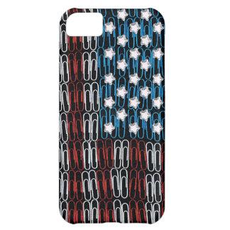 Estados Unidos de los Paperclips los E.E.U.U. Funda Para iPhone 5C