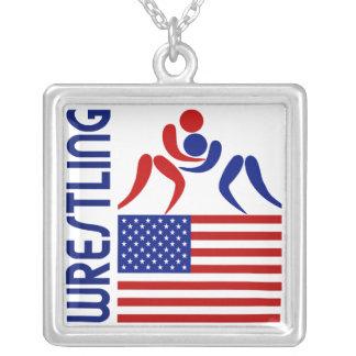 Estados Unidos de lucha Collares Personalizados