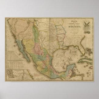 Estados Unidos de Mejico (y Tejas y los Estado Uni Impresiones