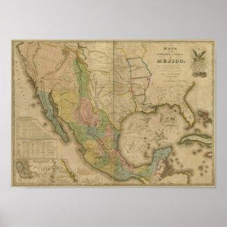 Estados Unidos de Mejico (y Tejas y los Estado Uni Poster