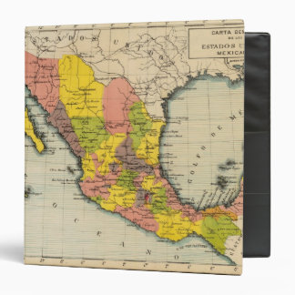 """Estados Unidos de México 2 Carpeta 1 1/2"""""""