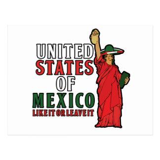 Estados Unidos de México Postales