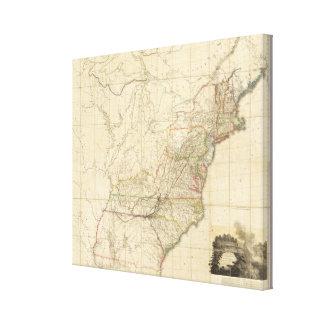 Estados Unidos de Norteamérica 2 Impresión En Lienzo