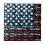 Estados Unidos de Paperclips Azulejo Ceramica