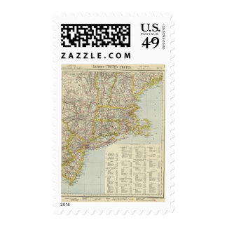 Estados Unidos del noreste 2 Sellos Postales