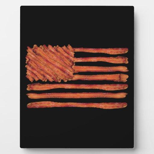 Estados Unidos del tocino señalan por medio de una Placas Para Mostrar
