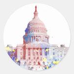 Estados Unidos el edificio del capitolio Etiquetas