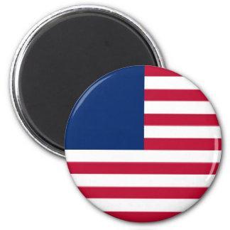 Estados Unidos Imán Redondo 5 Cm