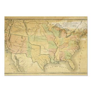 """Estados Unidos incluyendo los territorios Invitación 5"""" X 7"""""""