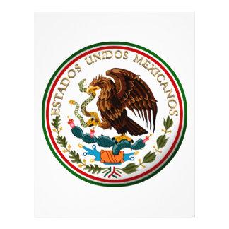 """Estados Unidos Mexicanos (Eagle de la bandera Folleto 8.5"""" X 11"""""""