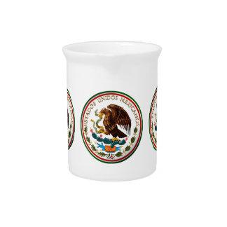 Estados Unidos Mexicanos Eagle de la bandera mexi Jarra
