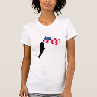 Estados Unidos Narwhal Camisetas