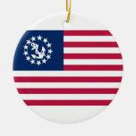 Estados Unidos navegan la bandera Ornamento De Reyes Magos