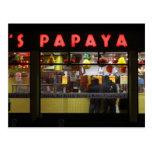 Estados Unidos, Nueva York. La papaya del gris: Tarjetas Postales