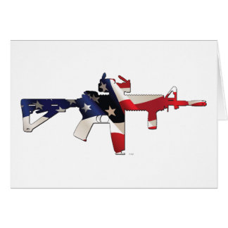 Estados Unidos, patriota, bandera y militares Tarjeta De Felicitación