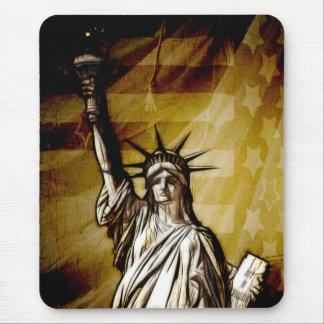 Estados Unidos patrióticos Tapetes De Ratón