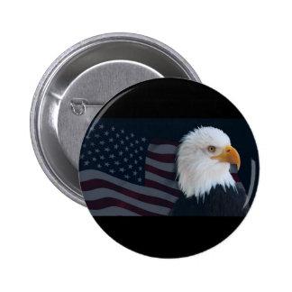 Estados Unidos Pin Redondo De 2 Pulgadas